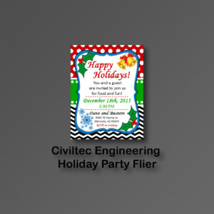Civiltec Holiday Fliers