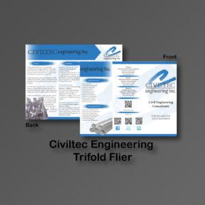 Civiltec TriFold Fliers