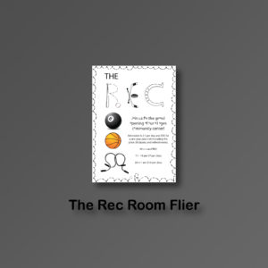 Rec Room Fliers