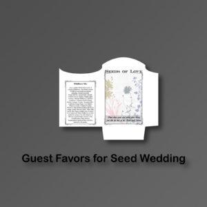 Seed Wedding Seeds