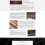 Piano Tunning page example
